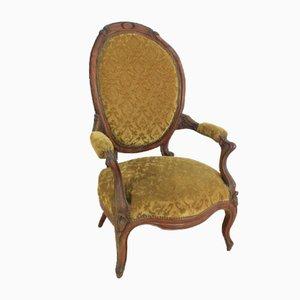Antique Louis Philippe Armchair, 1870s