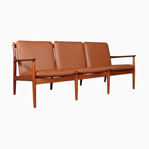 Canapé 3 Places en Teck par Grete Jalk, 1960s
