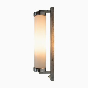 Bauhaus Chrome Wall Light Sconce, 1930s