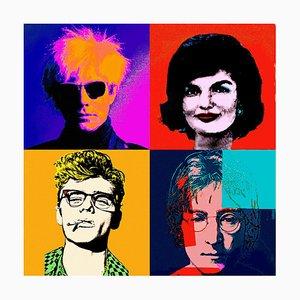 Andy Warhol Inspired Beleuchtetes Lentikular