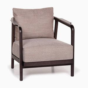 Beige Fabric Crono Armchair from Flexform