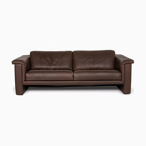 Brown Leather 2-Seat Sofa from Walter Knoll