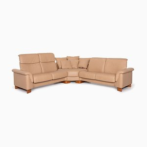 Beige Leather Paradise Corner Sofa from Stressless