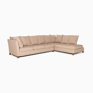 Beige Fabric Corner Sofa from Flexform