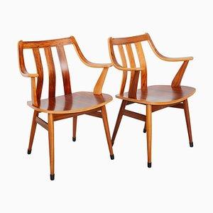 Armlehnstühle im Skandinavischen Stil, 1950er, 2er Set