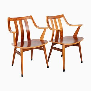 Scandinavian Style Armchairs, 1950s, Set of 2