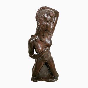 Ceramic Nude Lady Sculpture from Alexander, 1960s