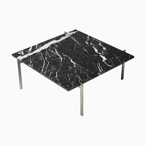 PK61 Coffee Table in Black Marble by Poul Kjærholm, 1957