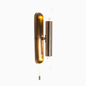 Brass Wall Light in the Style of Gaetano Sciolari from Vielhaber Leuchten, 1970s