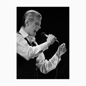 Fotografía de David Bowie en Estocolmo 1976 de Stefan Almers, 2016
