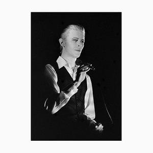 Fotografie von David Bowie in Stockholm 1976 von Stefan Almers, 2016