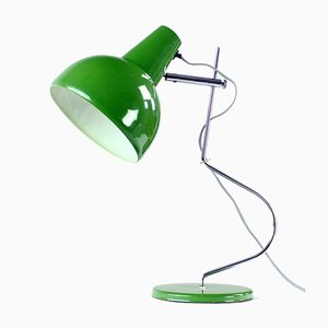 Mid-Century Green Metal Model L193 Table Lamp by Josef Hurka for Lidokov, 1960s