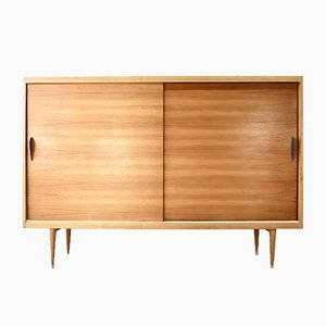 Mid-Century Ash Highboard, 1960s