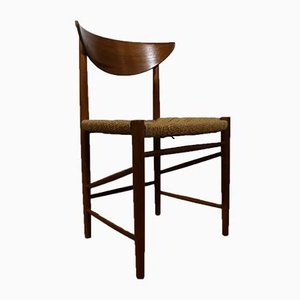 Mid-Century Danish Teak Model 316 Dining Chairs by Peter Hvidt for Søborg Møbelfabrik, Set of 2