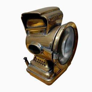 Antique Brass Oil Lamp by Joseph Lucas Birmingham