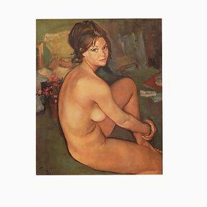 Mid-Century Sophie Print by Pierre Laurent Brenot, 1965
