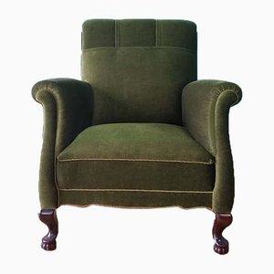 Dänischer Sessel mit hoher Lehne, 1930er