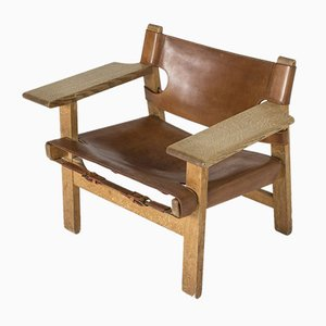 Spanische Stühle von Børge Mogensen für Fredericia, 1960er, 2er Set