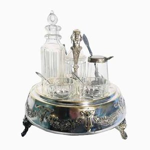 Antique Silver-Plated Table Service Set, 1900s