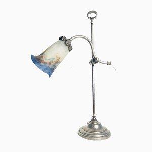 Tischlampe im Jugendstil von Muller Frères