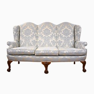 Antique Queen Anne Style Sofa, 1920s