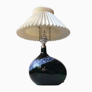 Lampada da tavolo asimmetrica di Michael Bang per Holmegaard, Danimarca, anni '70