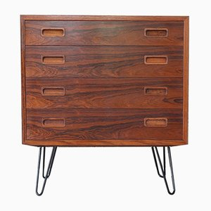 Mid-Century Rosewood Chest of Drawers by Poul Hundevad for Hundevad & Co., 1960s
