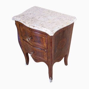 Luis XV Style Bedside Tables, 1920s, Set of 2