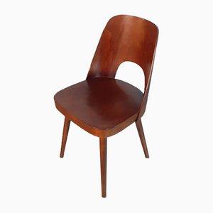 Chaises de Salon Modèle 515 Mid-Century en Noyer par Oswald Haerdtl pour TON, 1950s, Set de 8