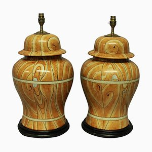 Table Lamps from Maison Jansen, 1960s, Set of 2