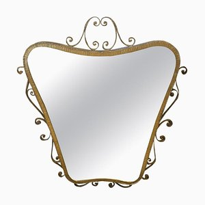 Mid-Century Shaped Wall Mirror by Pier Luigi Colli, 1950s