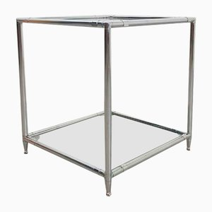 Vintage Royal Abstracta Side Table with Tube Frame by Poul Cadovius