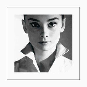 Audrey Hepburn Square Lightbox Lenticular