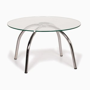 Silver, Glass & Metal Vostra Coffee Table from Walter Knoll