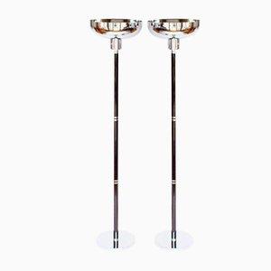 Uplighter Floor Lamps, Set of 2