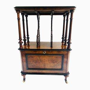 Mueble para instrumentos de música de nudo de nogal con incrustaciones en Canterbury
