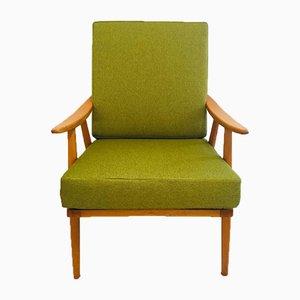 Green Boomerang Armchair, 1960s