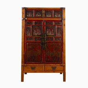 Vintage Chinese Cabinet, 1950s