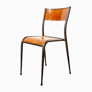 Vintage French Dining Chair from Mullca, 1950s