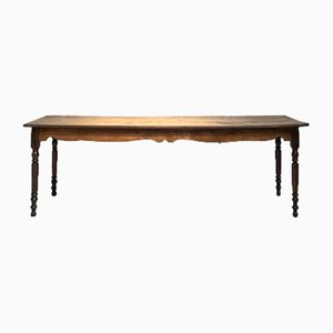 Antique Walnut Farm Table