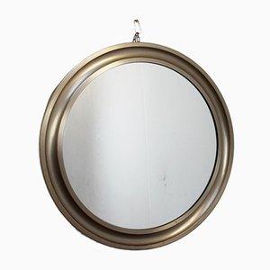 Espejo modelo Narciso redondo de Sergio Mazza para Artemide, años 70