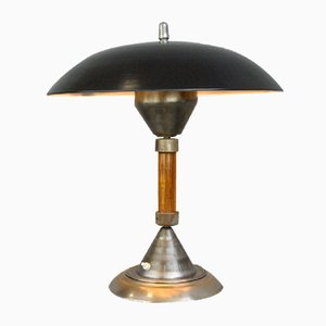 German Panzerfaust Table Lamp from Kaiser Idell / Kaiser Leuchten, 1940s
