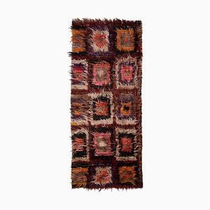 Vintage Turkish Tulu Runner Rug, 1970s