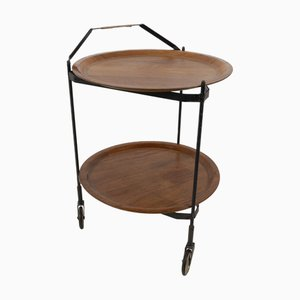 Mid-Century Folding Trolley from Ary Fanerprodukter