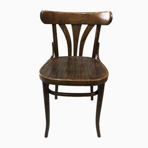 Chaise de Bistro en Hêtre, 1950s