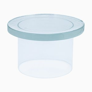 Large Alwa Three 5801T Side Table in Transparent by Sebastian Herkner for Pulpo