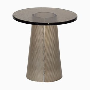 Bent Side Table High 2350G in Smokey Grey by Sebastian Herkner for Pulpo