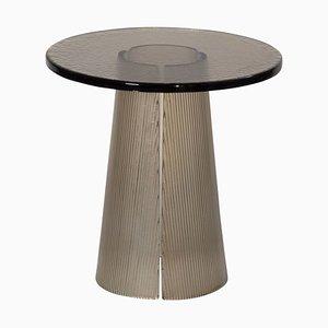 Tavolino pieghevole alto 2350G in grigio fumo di Sebastian Herkner per Pulpo