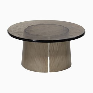 Large Bent Side Table 2375G in Smokey Grey by Sebastian Herkner for Pulpo