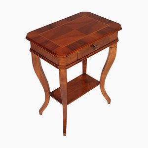 Small Vintage Louis XV Style Walnut Coffee Table from Bassano' Ebanistery, 1920s